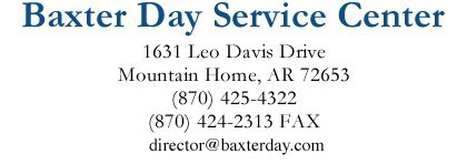 Baxter Day Service Center